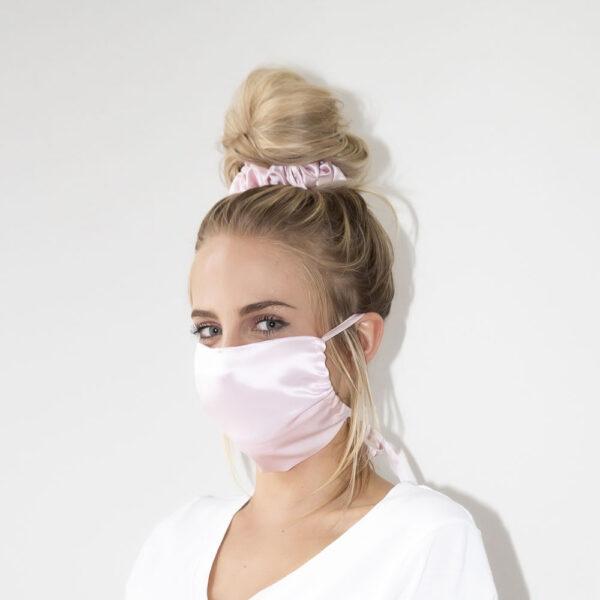 english rose silk face mask